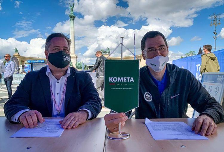 A Kometa ismét támogatja a fiatal kerékpárosokat