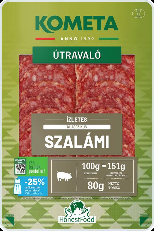 ÚTRAVALÓ Ízletes szalámi klasszikus 80 g
