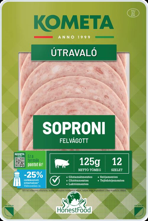ÚTRAVALÓ Soproni felvágott 125 g