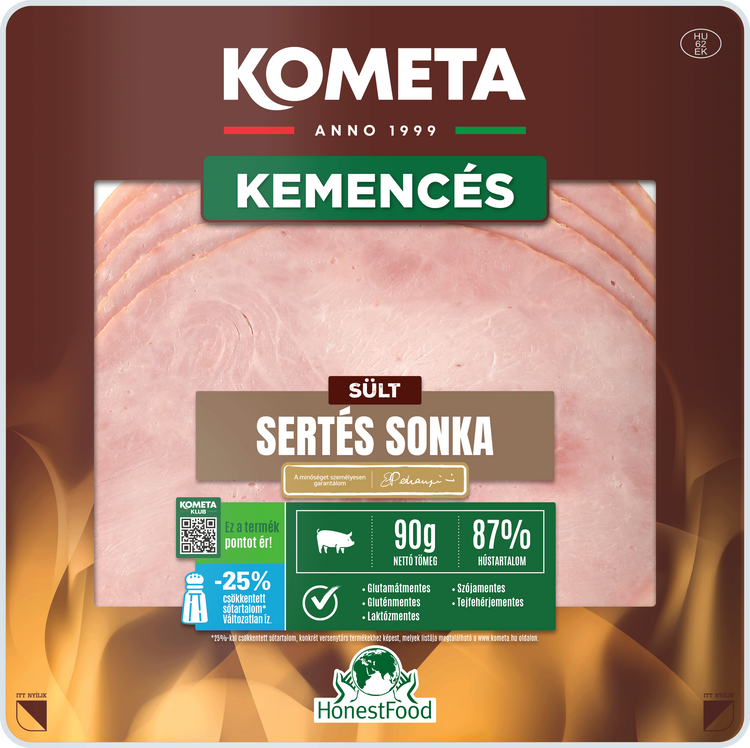 KEMENCÉS Sült sertés sonka 90 g
