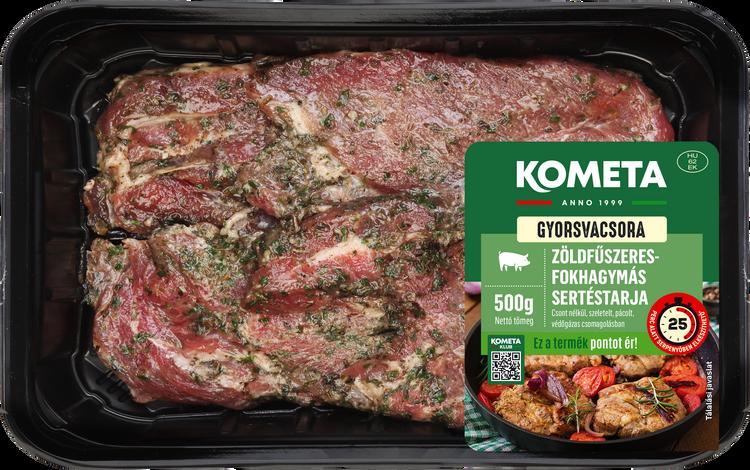 GYORSVACSORA Zöldfűszeres-fokhagymás sertéstarja 500 g