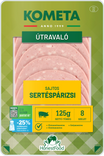 ÚTRAVALÓ Sajtos sertéspárizsi 125 g